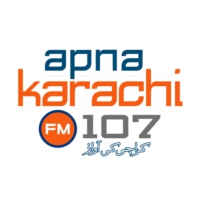 Logo of radio station Apna Karachi FM 107