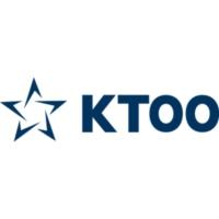 Logo of radio station KTOO News 104.3 FM