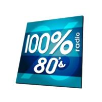 Logo de la radio 100% RADIO 80'S