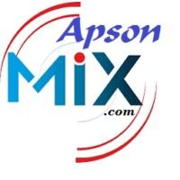 Logo of radio station ApsonMIX