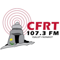 Logo of radio station CFRT 107.3 FM