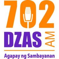 Logo de la radio 702 DZAS