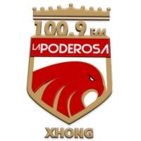 Logo of radio station La Poderosa 100.9 FM