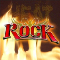 Logo of radio station ROCK Heat