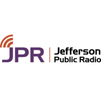 Logo of radio station KSOR JPR Rhythm & News