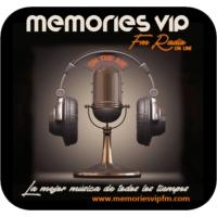 Logo of radio station MEMORIES VIP FM on line
