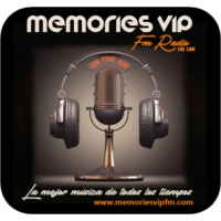 Logo of radio station MEMORIES VIP FM on line
