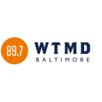 Logo of radio station WTMD 89.7