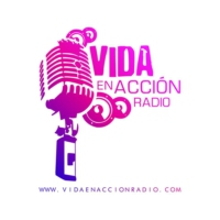 Logo of radio station Vida en Acción Radio
