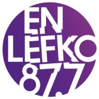 Logo de la radio En Lefko 87.7 FM