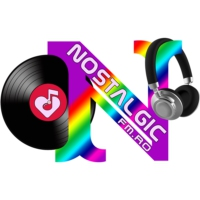 Logo of radio station Nostalgic FM