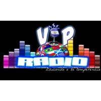 Logo de la radio V.I.P. RADIO EL SALVADOR