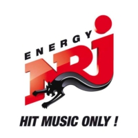 Logo of radio station NRJ Finland