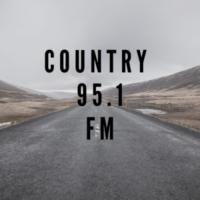 Logo of radio station 95.1 country fm