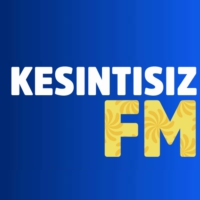 Logo of radio station KesintisizFM