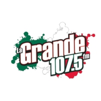 Logo of radio station KMVK La Grande 107.5 FM