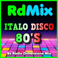 Logo of radio station RDMIX ITALO DISCO 80S
