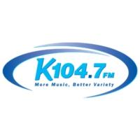 Logo of radio station WKQC  104.7