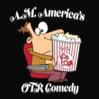 Logo of radio station A.M. America OTR Comedy Channel