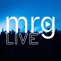 Logo of radio station MRG Live