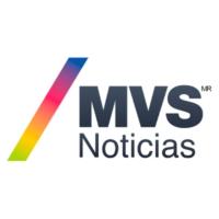 Logo of radio station MVS Noticias