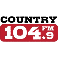Logo of radio station CKVX-FM Country 104.9 FM