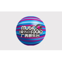 Logo of radio station 广西音乐广播 FM95.0