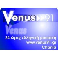 Logo of radio station Venus 91 FM