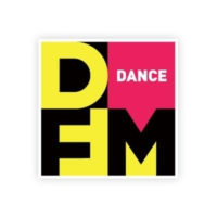 Logo of radio station Радио DFM Москва 101.2 FM
