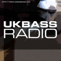 Logo of radio station UK Bass Radio
