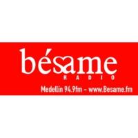 Logo de la radio Bésame 94.9 FM - Medellín