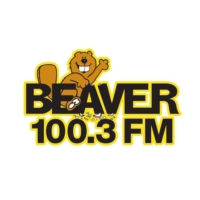 Logo of radio station WVVR The Beaver 100.3 FM