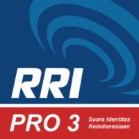 Logo of radio station RRI - Pro 3 Jakarta