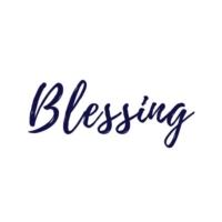 Logo of radio station Blessing.fm