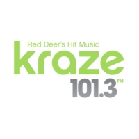 Logo of radio station CKIK-FM Kraze 101.3