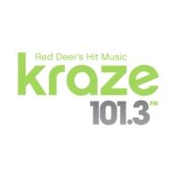 Logo de la radio CKIK-FM Kraze 101.3