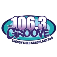 Logo of radio station KTGV-FM1 106.3 The Groove