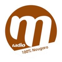 Logo de la radio M Radio 100% Nougaro