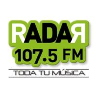 Logo de la radio XHQRO Radar 107.5 FM