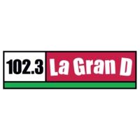 Logo of radio station KDUT La GranD 102.3 FM