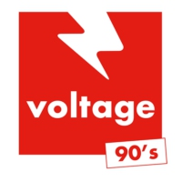 Logo of radio station Voltage 90