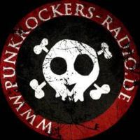 Logo of radio station Punkrockers Radio