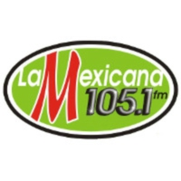 Logo of radio station XHYD La Mexicana 105.1 FM