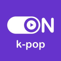 "Logo of radio station ""ON K-Pop"""