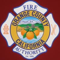 Logo of radio station Orange County Fire