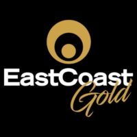 Logo of radio station East Coast Gold