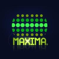 Logo of radio station Maxima 100.5 FM