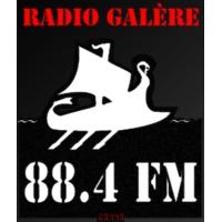Logo of radio station Radio Galère