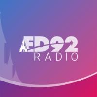 Logo of radio station ED92Radio