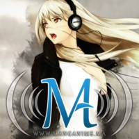 Logo of radio station Manganime